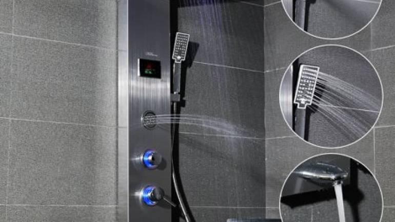 Todo lo que necesitas saber sobre el panel de ducha