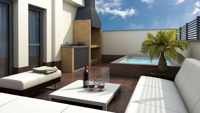 Jacuzzi de terraza: cómo complementar la decoración