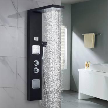 La fuente del bienestar: columna de ducha hidromasaje