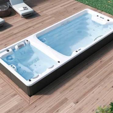 Piscina para terraza: ¿Nadar o relajarse?