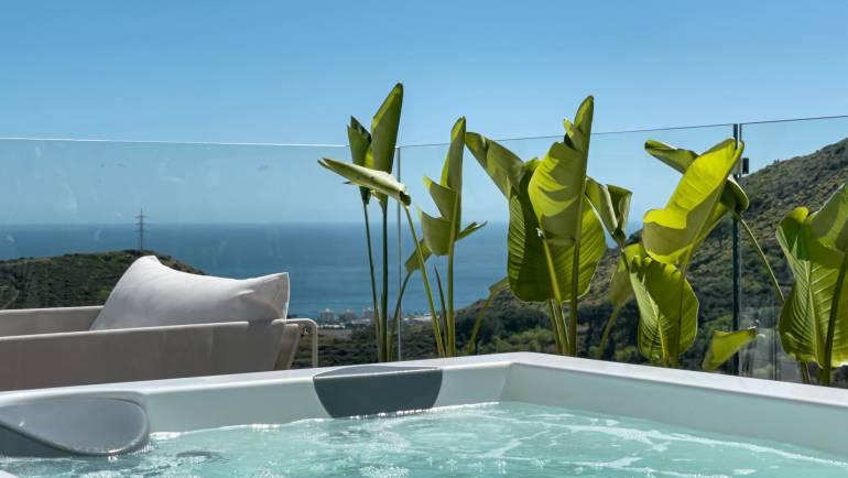 Jacuzzi de terraza: perfecto para socializar este 2021