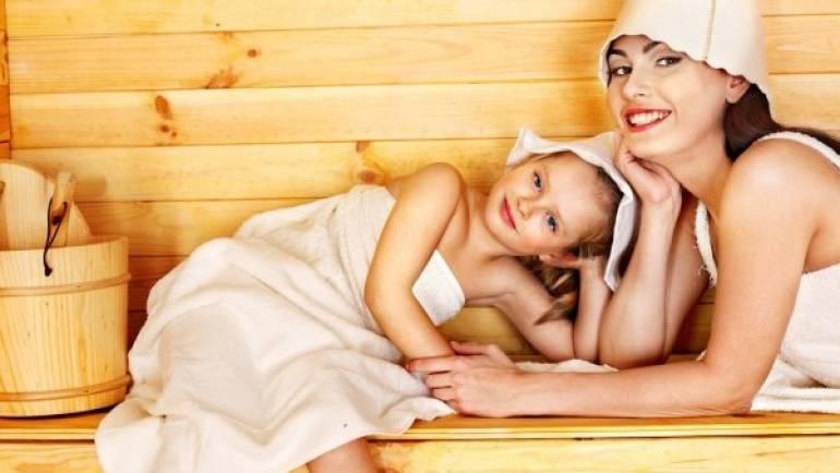Saunas de madera: ¿Pueden utilizarse por los más pequeños de la casa?