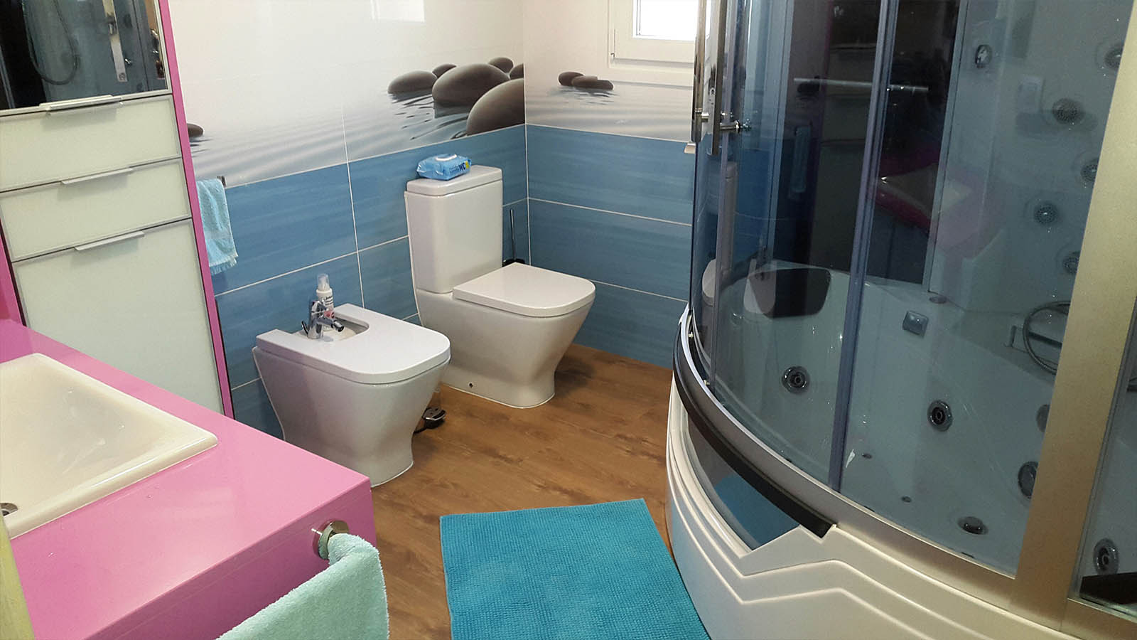 Cabina de hidromasaje bañera AT-012A